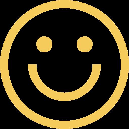 visage qui sourit